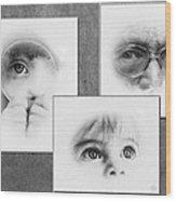 The Eyes Have It Wood Print by Gun Legler