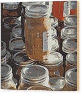 The Farmers Market Wood Print by Karyn Robinson