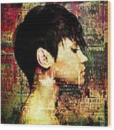 The Girl Who Loved Languages Wood Print by Gun Legler