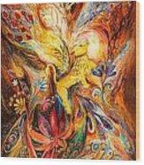 The Keeper Of Three Keys Wood Print by Elena Kotliarker