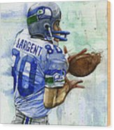 The Largent Wood Print by Michael  Pattison