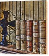 The Lawyers Desk Wood Print by Paul Ward
