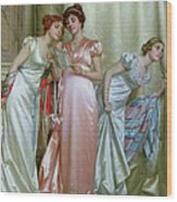 The Letter Wood Print by Vittorio Reggianini