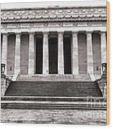 The Lincoln Memorial Wood Print by Olivier Le Queinec