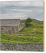 The Mens Chapel Wood Print by Adrian Evans