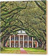 The Old South Wood Print by Steve Harrington