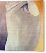 The Potential Of Death/birth Wood Print by Jodie Marie Anne Richardson Traugott          aka jm-ART