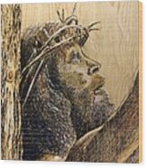 The Sacrifice Wood Print by Richard Jules