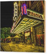 The Tampa Theater Wood Print by Marvin Spates