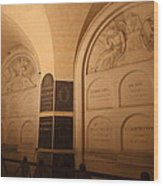 The Tombs At Les Invalides - Paris France - 011335 Wood Print by DC Photographer