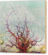 The Tree That Want Wood Print by Bjorn Eek