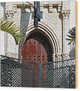 The Villa. Miami. Fl. Wood Print by Juan Carlos Ferro Duque