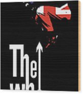 The Who No.01 Wood Print by Caio Caldas