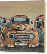 Three Amigos Wood Print by John Wyckoff