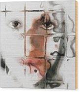 Through The Window Wood Print by Gun Legler