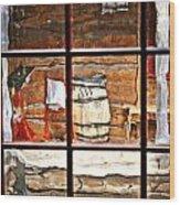 Through The Window Wood Print by Marty Koch