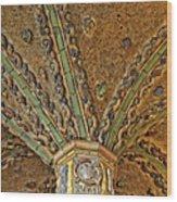 Tile Work Wood Print by Susan Candelario