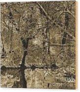 Time Iv Wood Print by Yanni Theodorou