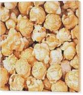 Toffee Popcorn Wood Print by Jane Rix
