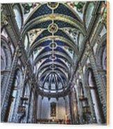 Tossa De Mar Church Wood Print by Isaac Silman