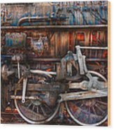 Train - With Age Comes Beauty  Wood Print by Mike Savad