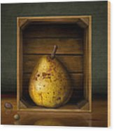 Tribute To Magritte Wood Print by Bob Nolin