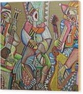 Trio To The Throne Wood Print by Anatoliy Sivkov