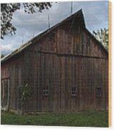 Tripp Barn Wood Print by Guy Shultz
