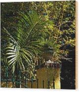 Tropical Invitation Wood Print by Susanne Van Hulst