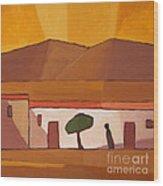 Tunisia Wood Print by Lutz Baar