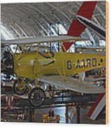Udvar-hazy Center - Smithsonian National Air And Space Museum Annex - 1212107 Wood Print by DC Photographer