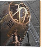 Udvar-hazy Center - Smithsonian National Air And Space Museum Annex - 121288 Wood Print by DC Photographer