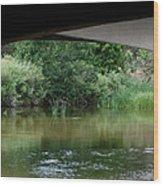 Under The Bridge Wood Print by Ernie Echols