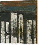 United #237 Wood Print by Kongtrul Jigme Namgyel
