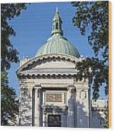 United States Naval Academy Chapel Wood Print by John Greim