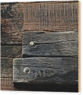 Unnecessary Repairs Wood Print by Odd Jeppesen
