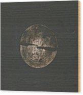 Untitled #201 Wood Print by Kongtrul Jigme Namgyel
