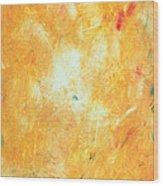 Untitled 5 Wood Print by Kongtrul Jigme Namgyel