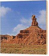 Valley Of The Gods Utah Wood Print by Christine Till