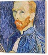 Van Gogh On Van Gogh Wood Print by Cora Wandel