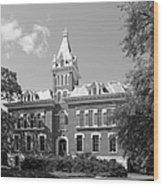 Vanderbilt University Benson Hall Wood Print by University Icons