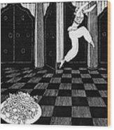 Vaslav Nijinsky In Scheherazade Wood Print by Georges Barbier