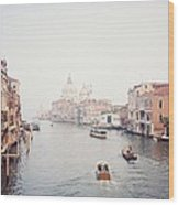 Venice Italy Wood Print by Michele Aristy