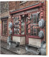 Victorian Hardware Store Wood Print by Adrian Evans