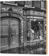 Victorian Menswear Wood Print by Adrian Evans