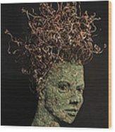 Vino Wood Print by Adam Long