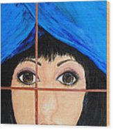 Waiting Wood Print by Dixie Adams