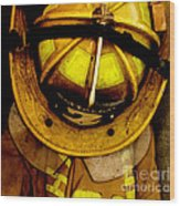 Waiting For Fire - Battalion 2  Wood Print by Steven  Digman