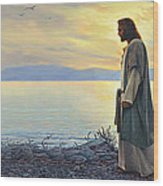 Walk With Me Wood Print by Greg Olsen