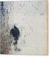 Walking In The Rain Wood Print by Carol Leigh
